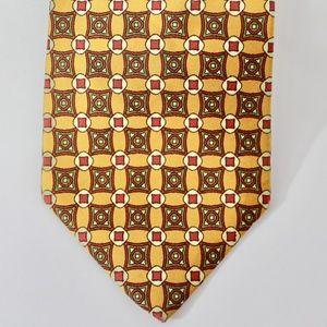 J. Crew Foulard Silk Tie, Mustard, E5